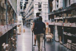 warehouse clean
