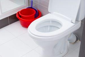 tandas tersumbat